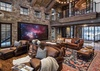 Great Room -  Lake Vista - Teton Village Luxury Private Villa Rental