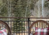 Deck - Moose Creek 35 - Slopeside Cabin in Teton Village, WY - Luxury Villa Rental