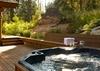 Back Deck - Catamount - Teton Village Luxury Vacation Villa