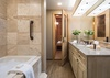 Guest Bathroom and Sauna - Grand View Hideout - Jackson Hole, WY - Luxury Vacation Rental
