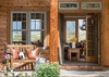Front Entry - Two Elk Lodge  - Jackson Hole, WY - Luxury Villa Rental