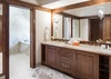 Upper Level Master Bathroom - Chateau on the West Bank - Jackson Hole, WY -  Luxury Villa Rental