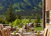 Outdoor Dining - Shooting Star Cabin 01 - Teton Village, WY - Luxury Villa Rental