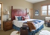 Master Bedroom - Moose Creek 35 - Slopeside Cabin in Teton Village, WY - Luxury Villa Rental