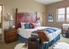 Master Bedroom - Moose Creek 35 - Slopeside Cabin in Teton Village - Luxury Villa Rental