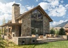 Rear Exterior - Fish Creek Luxury Lodge 75 - Teton Village Luxury Villa Rental