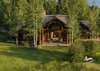 Back Exterior - Grizzly Wulff Lodge - Jackson Hole Private Luxury Villa Rental