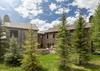 Back Exterior - Shooting Star Cabin 02 - Teton Village - Luxury Villa Rental