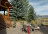 Patio - Two Elk Lodge  - Jackson Hole, WY - Luxury Villa Rental
