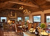 Dining and Great Room - Shooting Star Cabin 16 - Teton Village Luxury Villa Rental