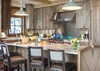 Kitchen - Fish Creek Lodge 08 - Teton Village, WY - Luxury Villa Rental