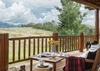 Great Room Balcony - Two Elk Lodge  - Jackson Hole, WY - Luxury Villa Rental