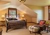 Guest Bedroom 3 - Shooting Star Cabin 03 - Teton Village Luxury Villa Rental