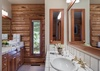 Master Bathroom - Rocking V - Wilson WY Private Luxury Villa Rental
