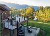 Deck - Chateau on the West Bank - Jackson Hole, WY -  Luxury Villa Rental