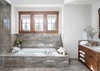 Master Bathroom - Chateau on the West Bank - Jackson Hole, WY -  Luxury Villa Rental