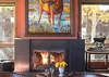 Fireplace - Villa at May Park II - Jackson Hole, WY - Luxury Villa Rental
