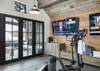 Fitness Room -  Lake Vista - Teton Village Luxury Private Villa Rental