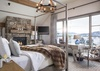 Master Bedroom - Fish Creek Lodge 04 - Teton Village, WY - Luxury Villa Rental