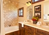 Guest Bathroom - Shooting Star Cabin 03 - Teton Village Luxury Villa Rental