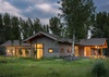 Front Exterior - Aspenglow - Jackson Hole, WY - Luxury Villa Rental