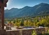 Patio - Fish Creek Lodge - Teton Village, WY - Luxury Cabin Rental