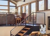 Stairs to Media Room - Villa at May Park II - Jackson Hole, WY - Luxury Villa Rental