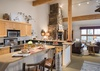 Kitchen - Moose Creek 35 - Slopeside Cabin in Teton Village - Luxury Villa Rental