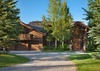 Front Exterior - Riversong Lodge - Wilson WY Luxury Villa Rental