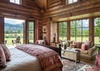 Guest Bedroom 1 - Grizzly Wulff Lodge - Jackson Hole Private Luxury Villa Rental