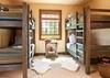 Bunk Room - Shooting Star Cabin 03 - Teton Village Luxury Villa Rental