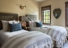 Guest Bedroom 1 - Shooting Star Cabin 02 - Teton Village - Luxury Villa Rental