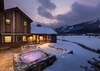 Hot Tub/Patio - Four Pines 06 - Teton Village, WY - Luxury Villa Rental