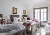 Guest Bedroom 2 - Four Pines 102 - Teton Village Luxury Villa Rental