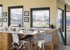 Breakfast Bar - Ridgetop Refuge - Jackson Hole, WY - Luxury Villa Rental