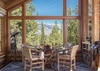 Breakfast Nook - Rocking V - Wilson WY Private Luxury Villa Rental
