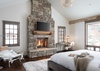 Master Bedroom - Four Pines 06 - Teton Village, WY - Luxury Villa Rental