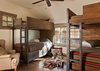Guest Bedroom 2 - Fish Creek Lodge 02 - Teton Village Luxury Cabin Rental