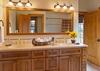 Master Bath - Catamount - Teton Village Luxury Vacation Cabin
