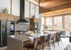 Main Level Kitchen - Tadasana - Jackson Hole, WY  -Luxury Villa Rental