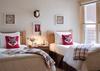 Guest Bedroom 1 -  Moose Creek 04 - Slopeside Cabin in Teton Village - Luxury Villa Rental