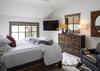 Guest Bedroom 1 - Four Pines 102 - Teton Village Luxury Villa Rental