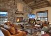Great Room - Shooting Star Cabin 08 - Teton Village Luxury Villa Rental