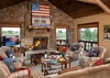 Great Room - Shooting Star Cabin 03 - Teton Village Luxury Villa Rental