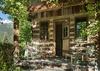 Front Door - Shooting Star Cabin 02 - Teton Village - Luxury Villa Rental