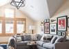 Guest Wing Living Room - Summer Wind - Jackson WY - Luxury Villa Rental