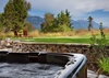 Hot Tub - Riversong Lodge - Wilson WY Luxury Villa Rental
