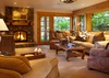 Den - Riversong Lodge - Wilson WY Luxury Villa Rental