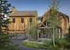 Front Exterior - Shooting Star Cabin 06 - Teton Village, WY - Luxury Villa Rental