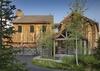 Front Exterior - Shooting Star Cabin 06 - Teton Village Luxury Villa Rental